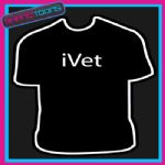 I VET PET ANIMAL GIFT FUNNY SLOGAN TSHIRT
